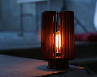 """Wooden Lamp """"REACTOR"""""""