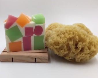 Melon Salad Handmade Soap