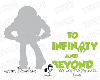 Download To infinity and beyond svg | Etsy