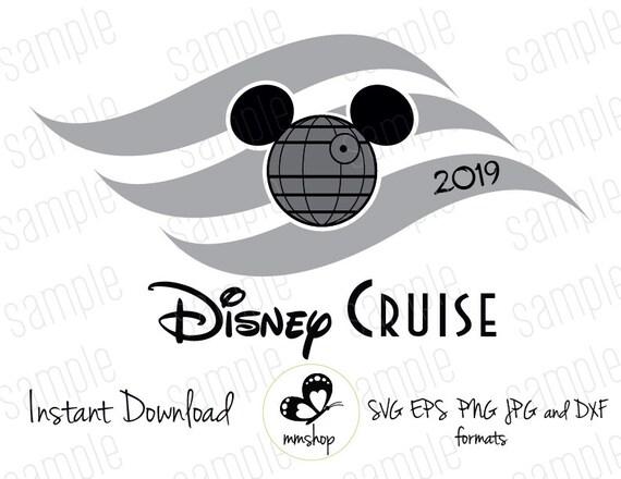 Disney Cruise - Death Star - Flag - Instant Download - SVG FILES