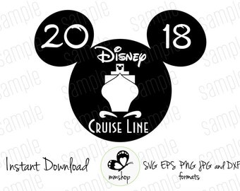 Disney Cruise Line - Instant Download - SVG FILES