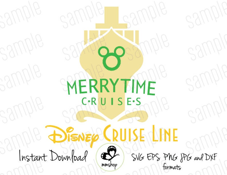Merry Time Cruises - Disney Cruise - Instant Download - SVG FILES