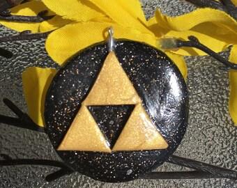 Legend of Zelda Triforce Pendant