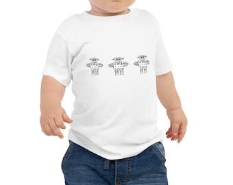 Robotmen Babygrow Short sleeved.