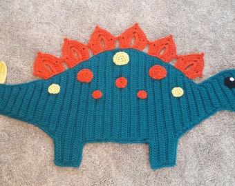 Crochet Dinosaur Rug