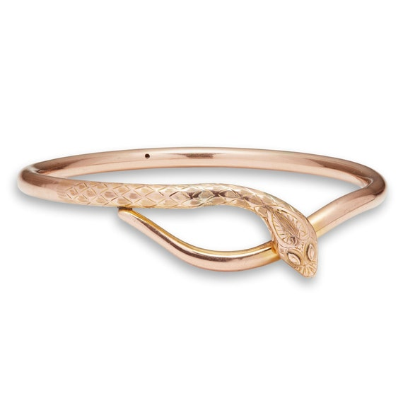A Late Victorian Snake Bangle & Arm Band | Antique