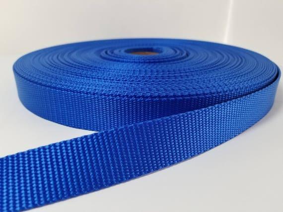 5 Yards~~ 1 inch ROYAL BLUE 25 mm Cotton webbing//Strap