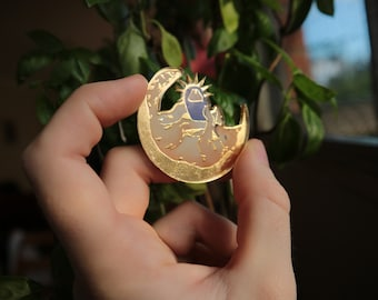 Feast! brooch LIMITED GOLD