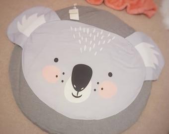 Koala Design Baby Tummy Time Crawling Playmat Nursery Rug