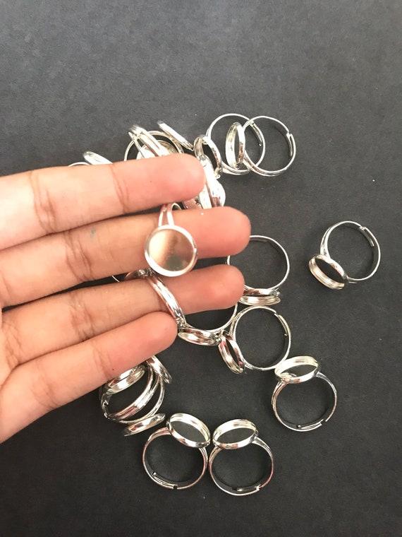 10pcs Brass Leverback Earwire Earring Setting Bezel Bronze Nickel Free 20mm Tray