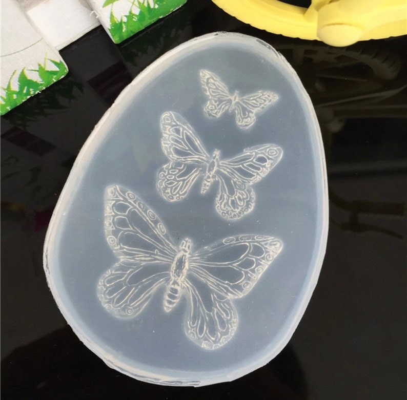 butterfly mold, kawaii mold, kawaii mold supply, resin deacoden mold, phone  case deco charms mould, uv resin mold,wholesale mould supplies