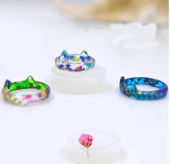Ring Mold Diy Resin Jewelry Molds Epoxy Resin Mold Resin Etsy