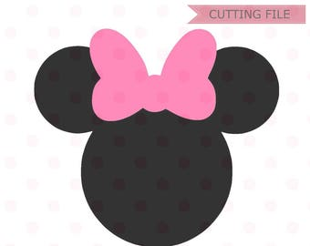 Minnie mouse head etsy minnie mouse svg instant download minnie mouse head vector minnie mouse cut file minnie mouse for silhouette and cricut maxwellsz