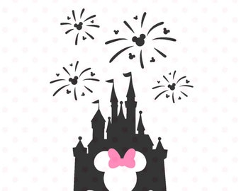 Disney Castle Svg Etsy