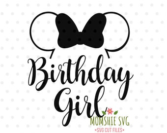 Disney Birthday Svg Etsy