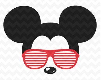 3caea623890f Mickey Mouse svg sunglasses