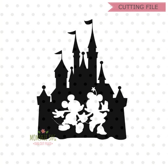 Disney Castle Svg Disney Svg Disney Castle With Mickey And Etsy