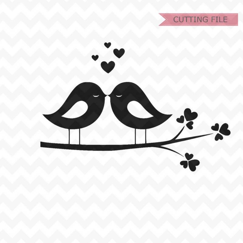 Lovebirds svg love birds svg and png file lovebirds   Etsy