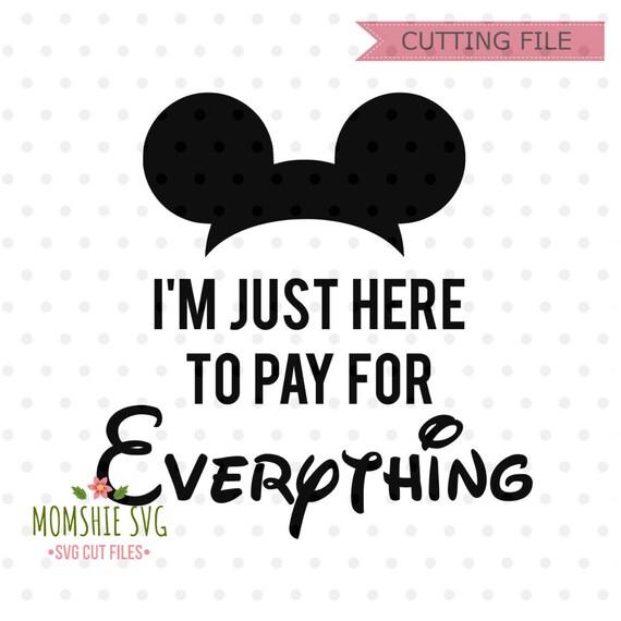 Funny Disney Svg Disney Svg Disney Trip Svg And Png File Etsy