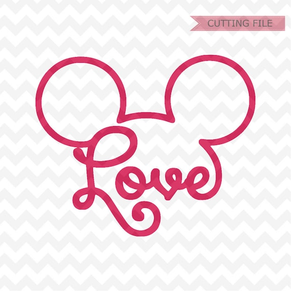 1329+ Love Mickey Svg SVG Images File