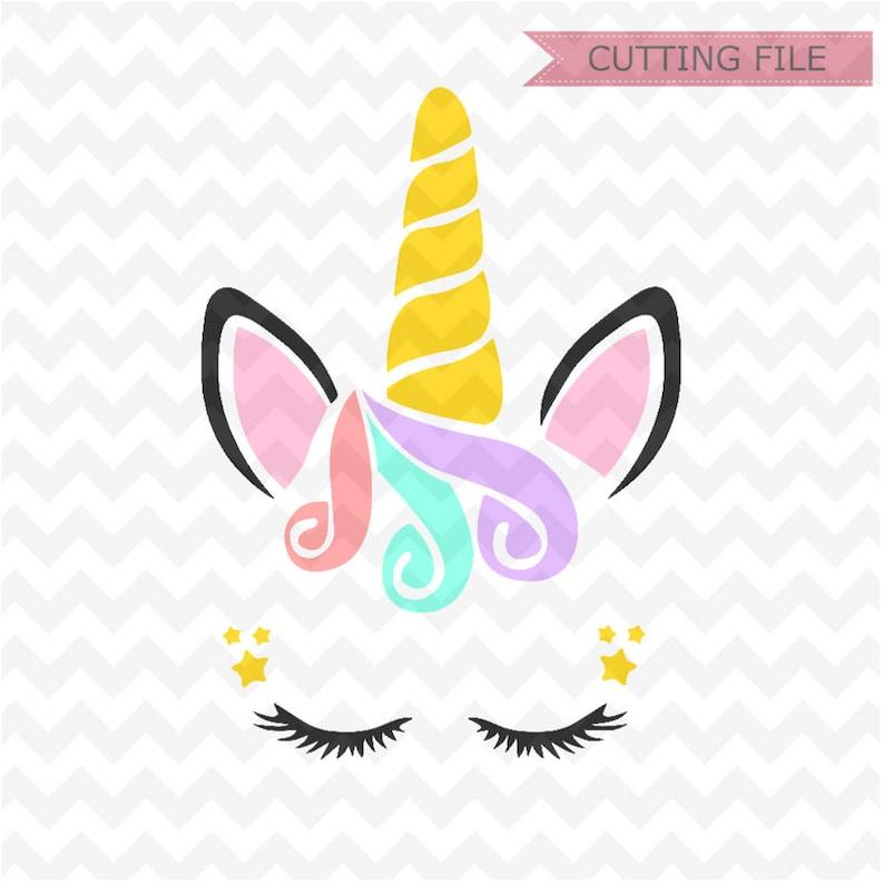 Unicorn SVG, Unicorn head svg Cut files, colorful Unicorn svg and PNG  instant download, Cute unicorn svg, cricut silhouette unicorn file