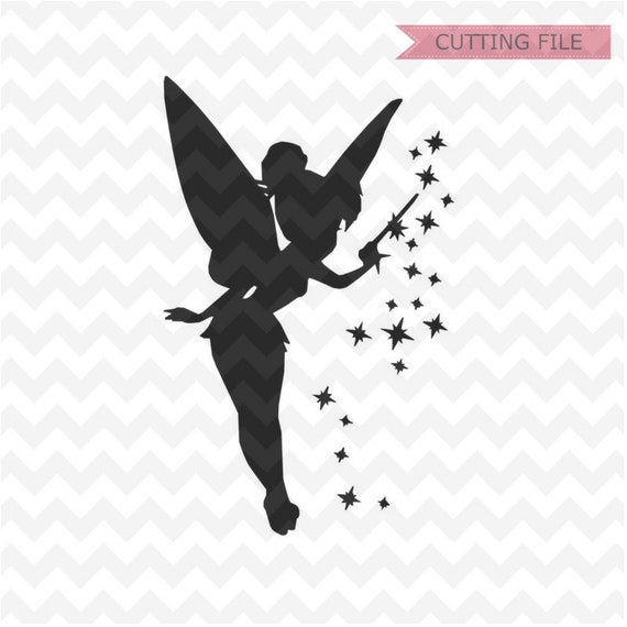Tinkerbell Svg Peter Pan Tinkerbell Svg Dxf And Png Instant Etsy