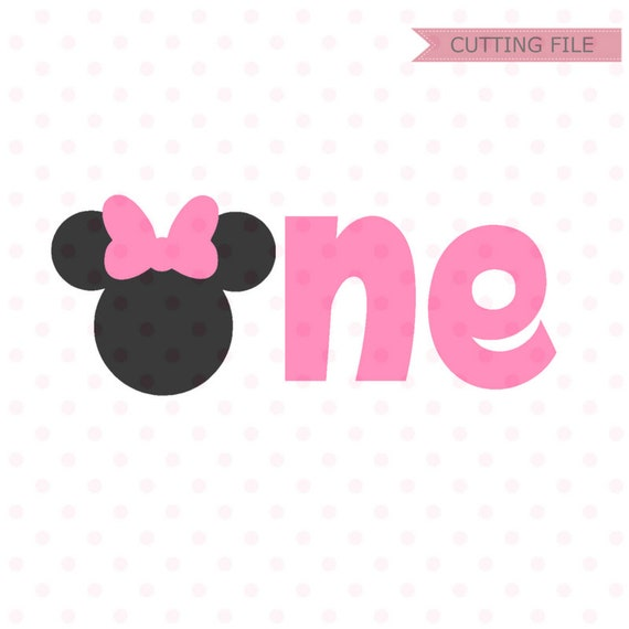 minnie mouse first birthday Minnie Mouse First Birthday SVG Minnie Mouse Head Vector | Etsy minnie mouse first birthday