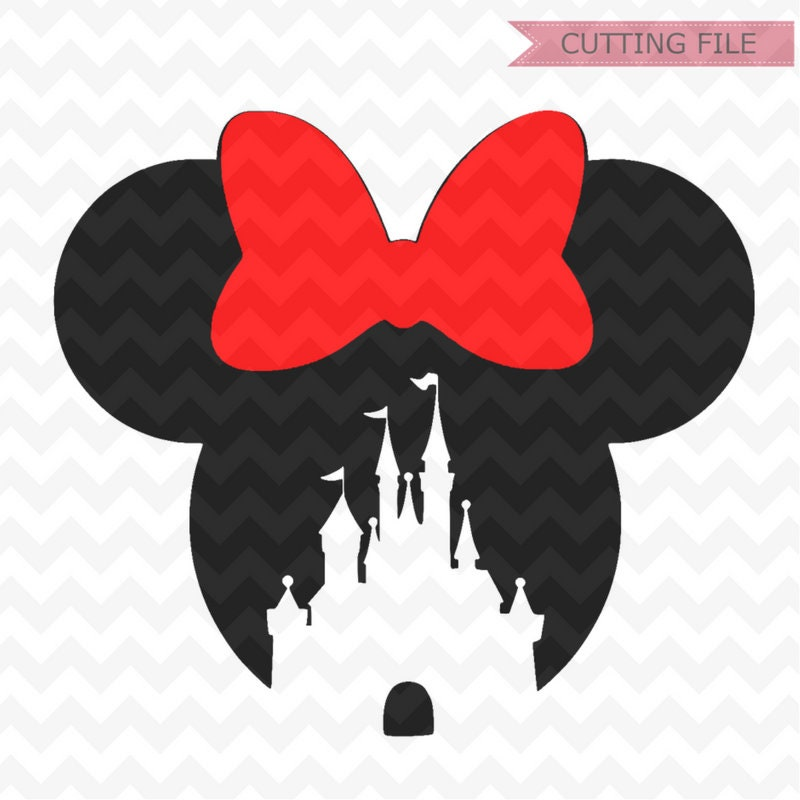 Minnie Mouse Svg Minnie Mouse Castle Svg And Png Instant
