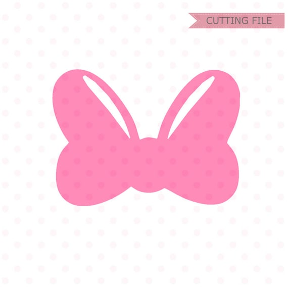 Minnie Mouse Bow Svg Minnie Mouse Cute Bow Svg And Png Etsy