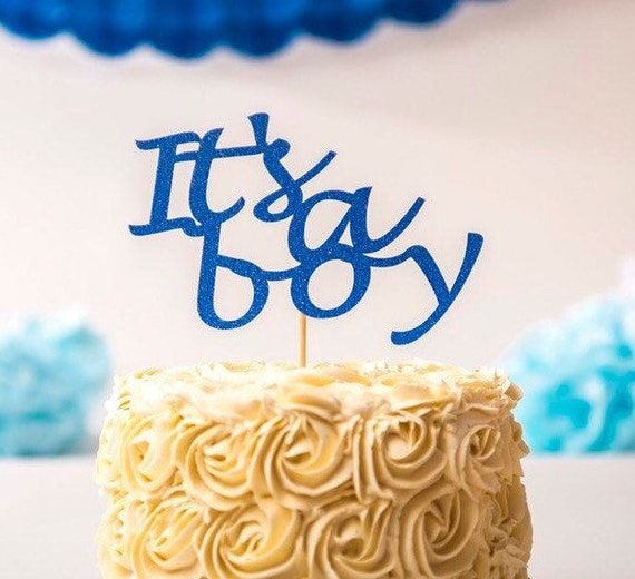 It S A Boy Cake Topper Baby Shower Cake Topper Boy Baby Boy Baby Shower Baby Boy Shower Baby Boy Cake Topper Boy Cake Topper Its A Boy