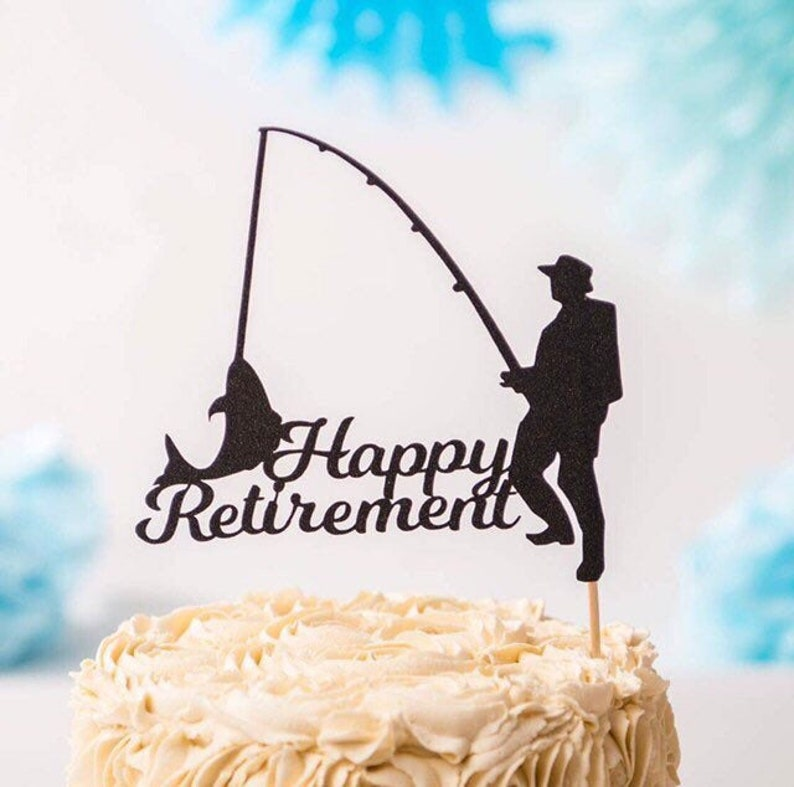 Prime Decorations Stationery Party Supplies Personalised Fishing Cake Funny Birthday Cards Online Eattedamsfinfo