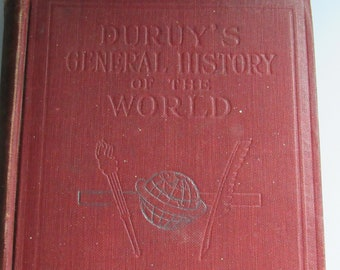 Duruys general History of the world   1912