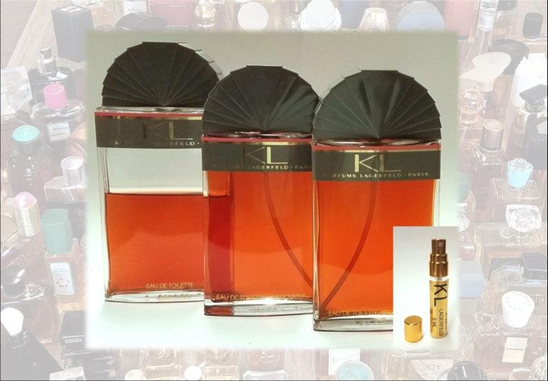 Decantéchantillons Pour Vintage Les Lagerfeld Edt Femmes Karl Kl Original Parfum Authentique ~ Par UVjLpGSMzq