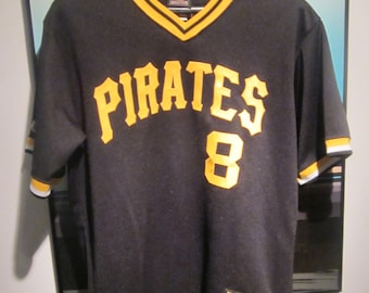 3c948a881 Willie Stargell Pittsburgh Pirates Cooperstown Majestic Jersey. Size M.