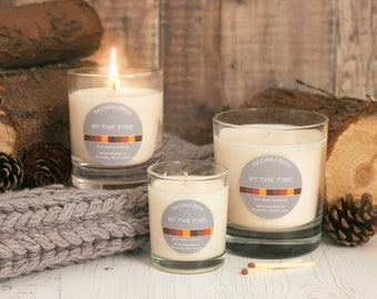 By the fire - soy wax candle