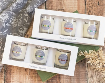 Candle gift set 3 votive candles. Mix and match candle gift set. Thinking of you gift