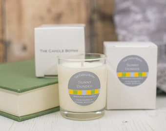 Sunny Dundee soy wax candles - Dundee edition