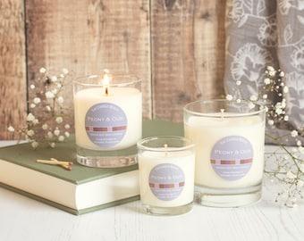Peony & Oud - soy wax candle