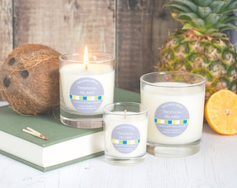 Tropical Island - soy wax candle