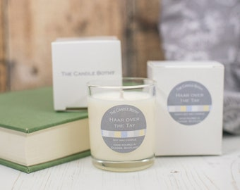 Haar over the Tay soy wax candles - Dundee edition