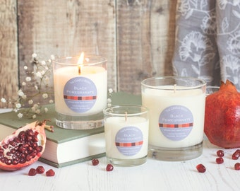 Black Pomegranate - soy wax candle