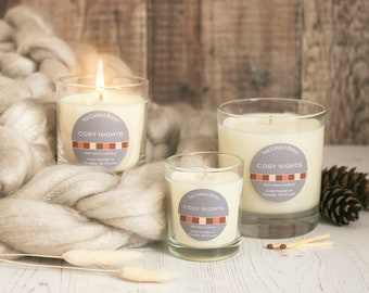 Cosy nights - soy wax candle