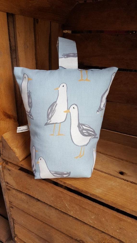 Seagull Oilcloth Toddler Apron birds