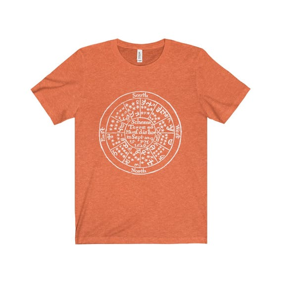 Alchemy T Shirt Featuring Medieval Alchemical Symbols From Etsy