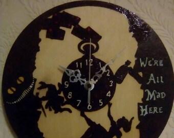 Alice in Wonderland clock