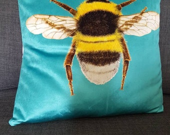 Bee Cushion Cover 16""