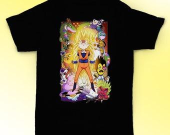 03d681b13842 Adventure Time shirt Goku super saiyan t shirt tee gift ideas / unisex,  womens, mens shirt / cotton clothing / apparel / gift for him her