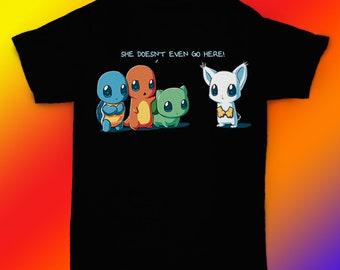 66e64e57 Pokemon t-shirt pokemon t shirt Charmander tee gift ideas / unisex, womens,  mens shirt / cotton clothing / birthday apparel gift for him her