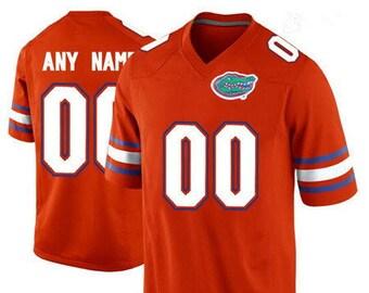 beb50665 Mens Custom NAME& NUMBER Florida Gators College Football Jersey Stitched  Orange