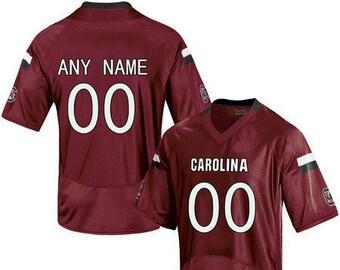 9c47c6e4 Mens Custom NAME & NUMBER South Carolina Gamecocks College Football Jersey  Red